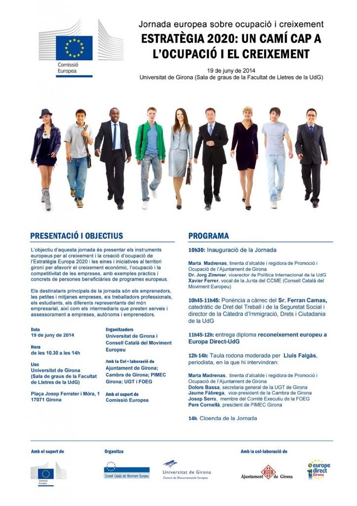 Jornada europea ESTRATÈGIA 2020
